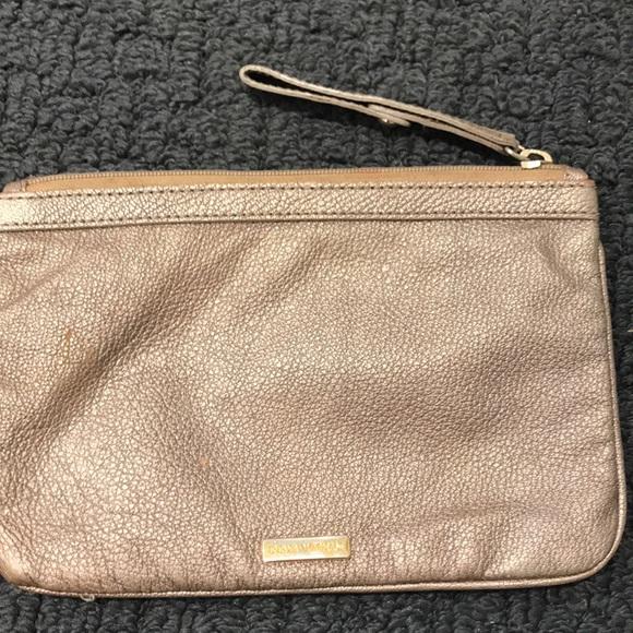 Emporio Armani Handbags - Emporio Armani gold wristlet
